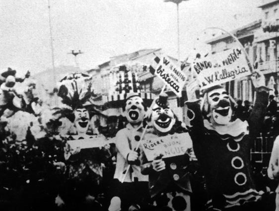 Colpo di stato al carnevale di Carlo Bomberini - Mascherate di Gruppo - Carnevale di Viareggio 1969