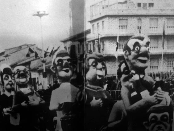 Indovina chi viene a cena di Giovanni Pardini - Mascherate di Gruppo - Carnevale di Viareggio 1969
