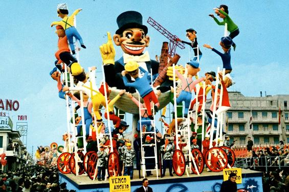 Vengo anch'io di Carlo Francesconi, Sergio Barsella - Carri grandi - Carnevale di Viareggio 1969