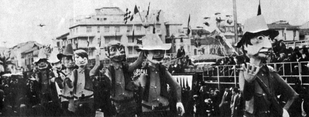 Western all'italiana di Vittorio Lippi e Guidobaldo Francesconi - Mascherate di Gruppo - Carnevale di Viareggio 1969