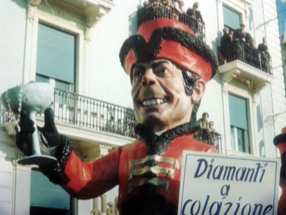 Diamanti a colazione di  - Maschere Isolate - Carnevale di Viareggio 1970