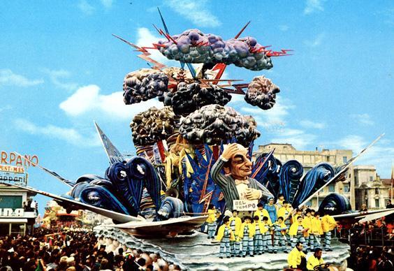 Ma che tempo fa di Arnaldo Galli, Giuseppe Palmerini - Carri grandi - Carnevale di Viareggio 1970
