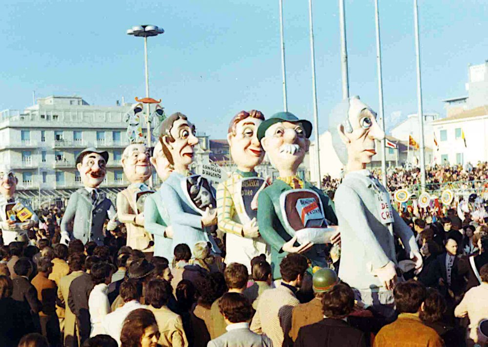 Le nuove gioiellerie di Fortunato Pardini - Mascherate di Gruppo - Carnevale di Viareggio 1971