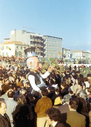 L'antiprogressista di Giampaolo Puccetti - Maschere Isolate - Carnevale di Viareggio 1971