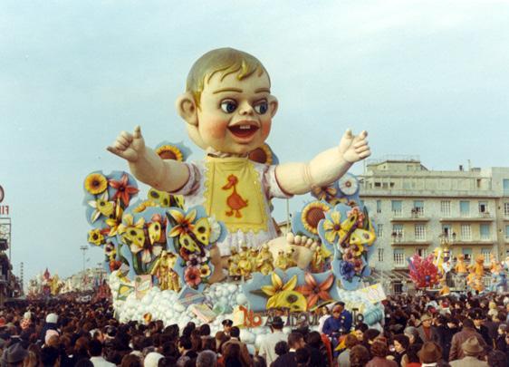 No all'inquinamento di Carlo Francesconi, Sergio Barsella - Carri grandi - Carnevale di Viareggio 1971