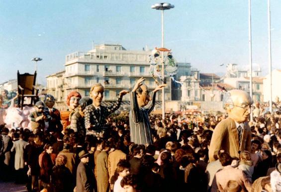 Traguardi d'oggi di Fabio Romani - Mascherate di Gruppo - Carnevale di Viareggio 1971