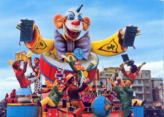 È tutta una risata di Carlo Francesconi e Sergio Barsella - Carri grandi - Carnevale di Viareggio 1972