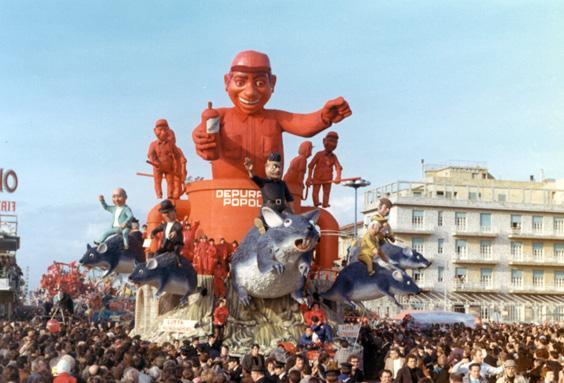 Lotta all'inquinamento di Silvano Avanzini - Carri grandi - Carnevale di Viareggio 1972