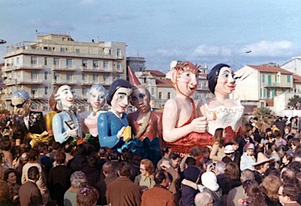 Love story di Mario Gamboni - Complessi mascherati - Carnevale di Viareggio 1972