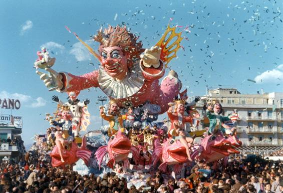 Rendez-vous a Viareggio di Carlo Vannucci - Carri grandi - Carnevale di Viareggio 1973