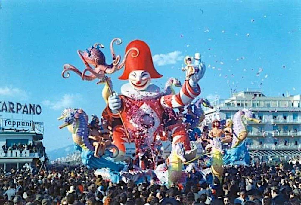Ricordo di Viareggio di Renato Galli - Carri grandi - Carnevale di Viareggio 1973