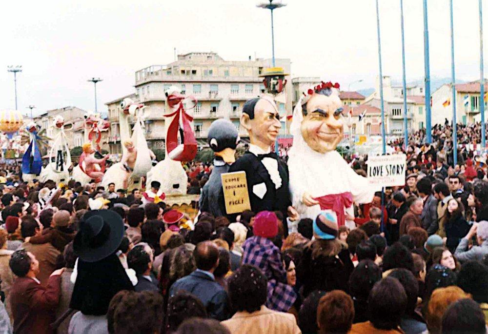 Love story di Paolo Lazzari - Mascherate di Gruppo - Carnevale di Viareggio 1974