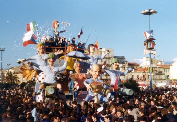 Campionati mondiali di calcio 1978 di Eros Canova - Carri piccoli - Carnevale di Viareggio 1975