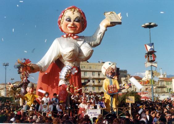 I falsi a...morosi di Amedeo Mallegni - Carri piccoli - Carnevale di Viareggio 1975