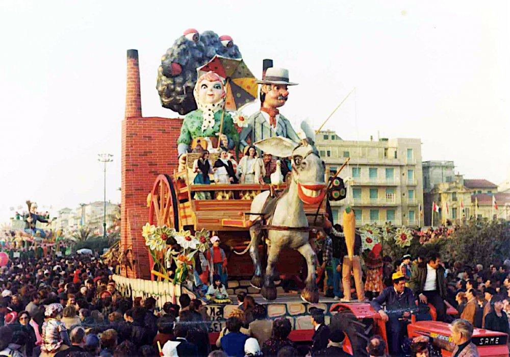 Torna al tuo paesello di Davino Barsella - Carri piccoli - Carnevale di Viareggio 1977