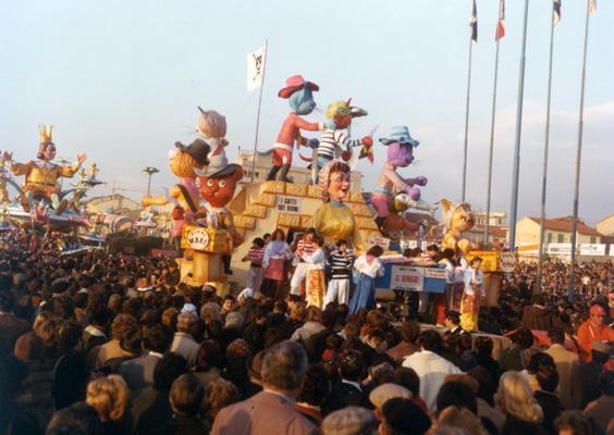 All'arrembaggio di Eros Canova - Carri piccoli - Carnevale di Viareggio 1978