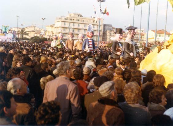 I dicasteri di Giovanni Pardini - Mascherate di Gruppo - Carnevale di Viareggio 1978