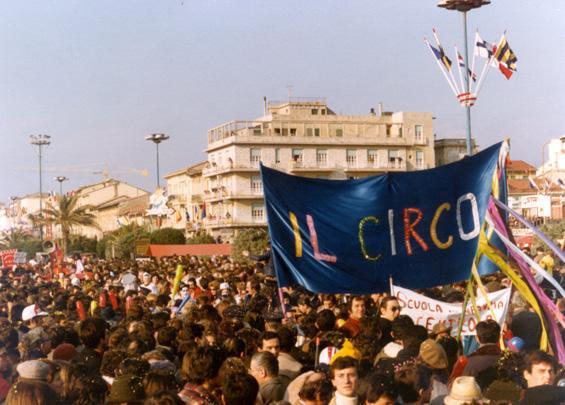 Il circo di Rione Centro - Palio dei Rioni - Carnevale di Viareggio 1978