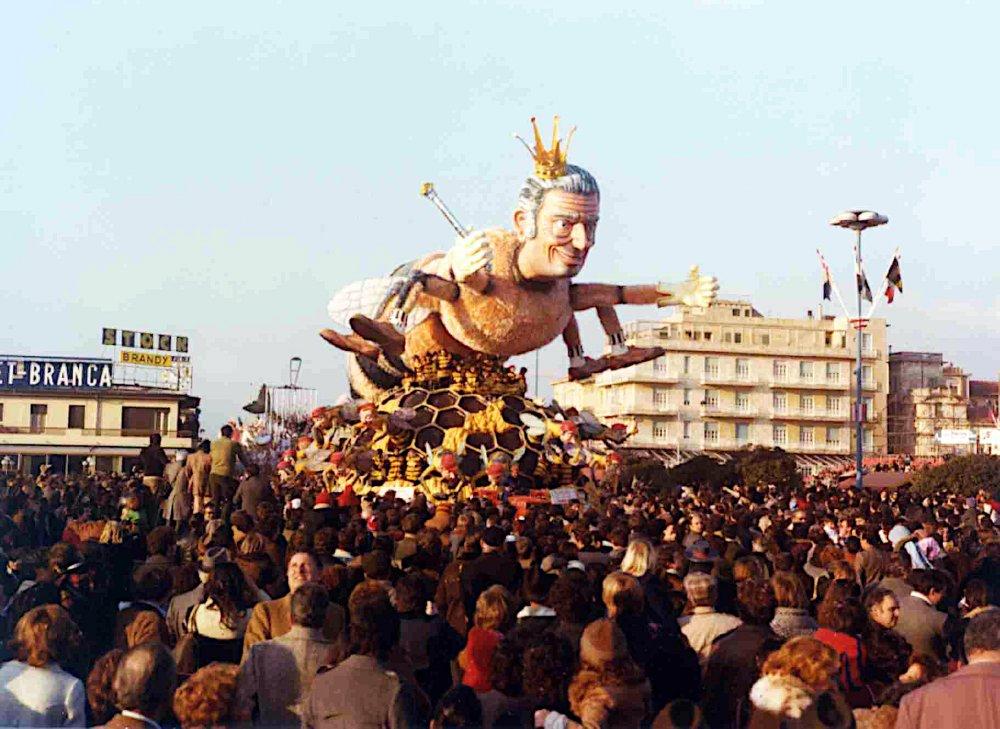 L'alveare di Renato Verlanti - Carri grandi - Carnevale di Viareggio 1978