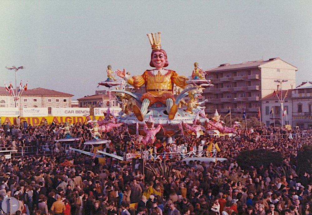 Salviamo il carnevale di Carlo Vannucci - Carri grandi - Carnevale di Viareggio 1978