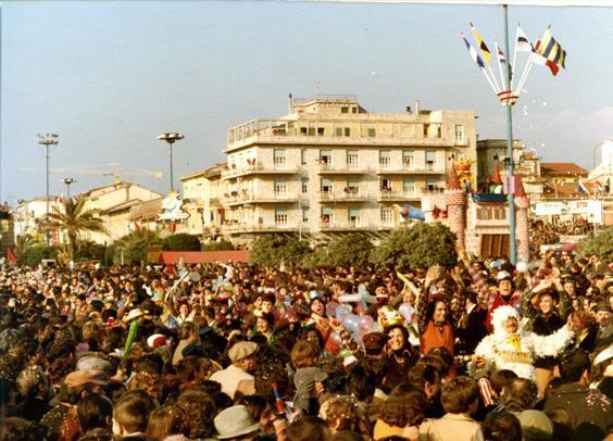 Viareggio ci regala il carnevale di Rione Quattro Venti - Palio dei Rioni - Carnevale di Viareggio 1978