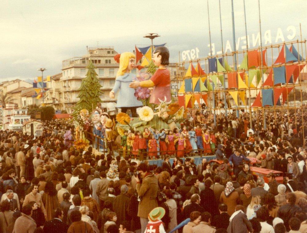 Heidi di Sergio Barsella, Eros Canova, Loris Lazzarini - Carri piccoli - Carnevale di Viareggio 1979