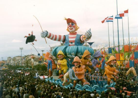 L'esca di Renato Galli - Carri grandi - Carnevale di Viareggio 1979