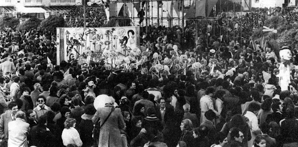 Mary Poppins di Rione Quattro Venti - Palio dei Rioni - Carnevale di Viareggio 1979