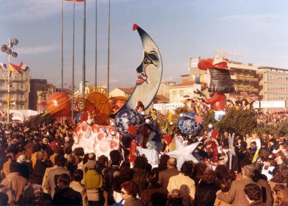 Carnevale tra le stelle di Rione Quattro Venti - Palio dei Rioni - Carnevale di Viareggio 1980