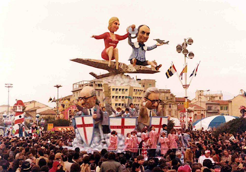 Chi ha mangiato la marmellata di Paolo Lazzari - Carri piccoli - Carnevale di Viareggio 1980