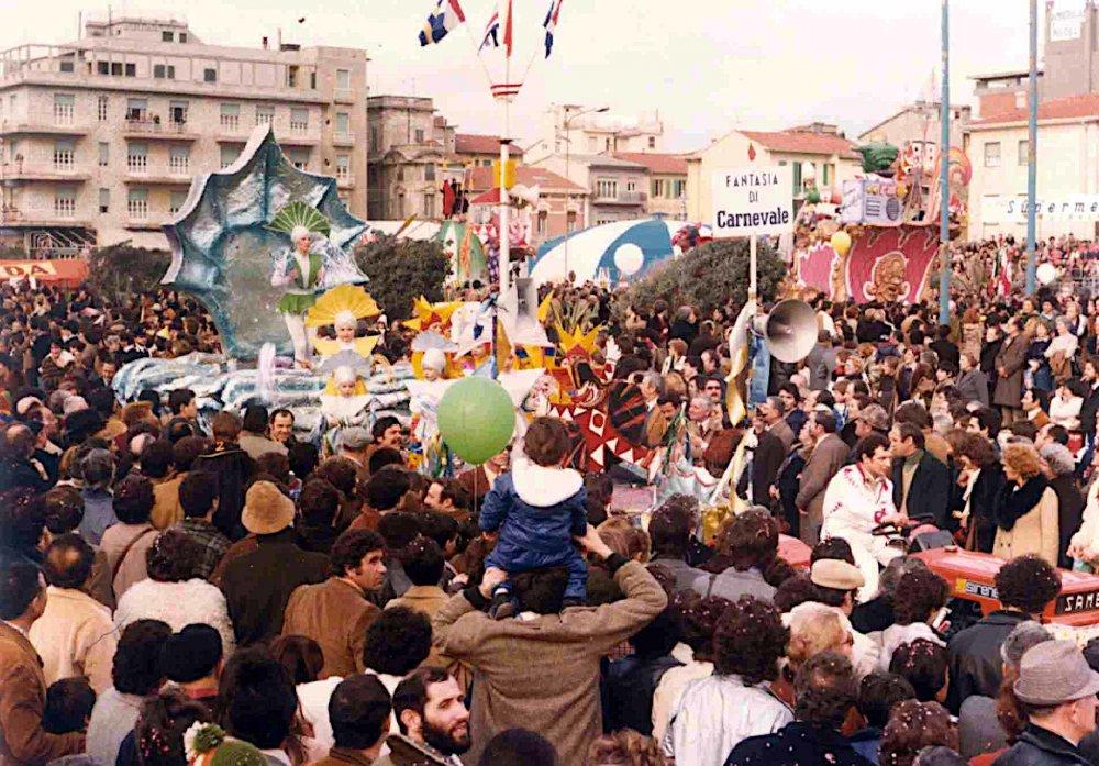 Fantasia di carnevale di Rione Migliarina - Palio dei Rioni - Carnevale di Viareggio 1980