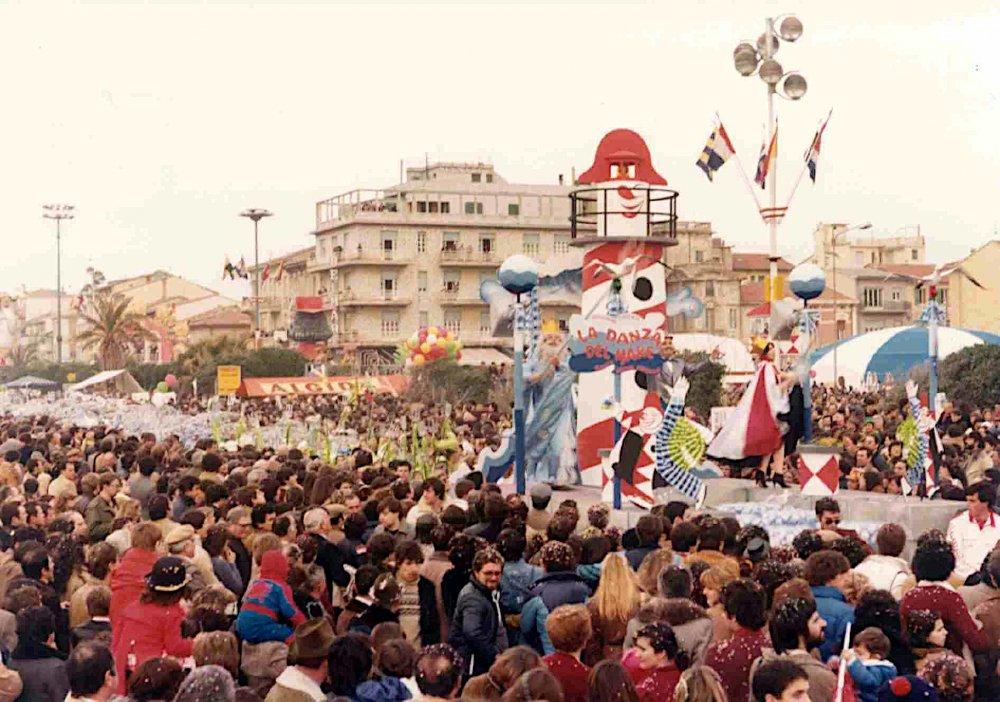 La danza del mare di Rione Vecchia Viareggio - Palio dei Rioni - Carnevale di Viareggio 1980