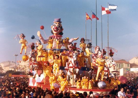 La pagliacciata di Rione Vecchia Viareggio - Fuori Concorso - Carnevale di Viareggio 1980