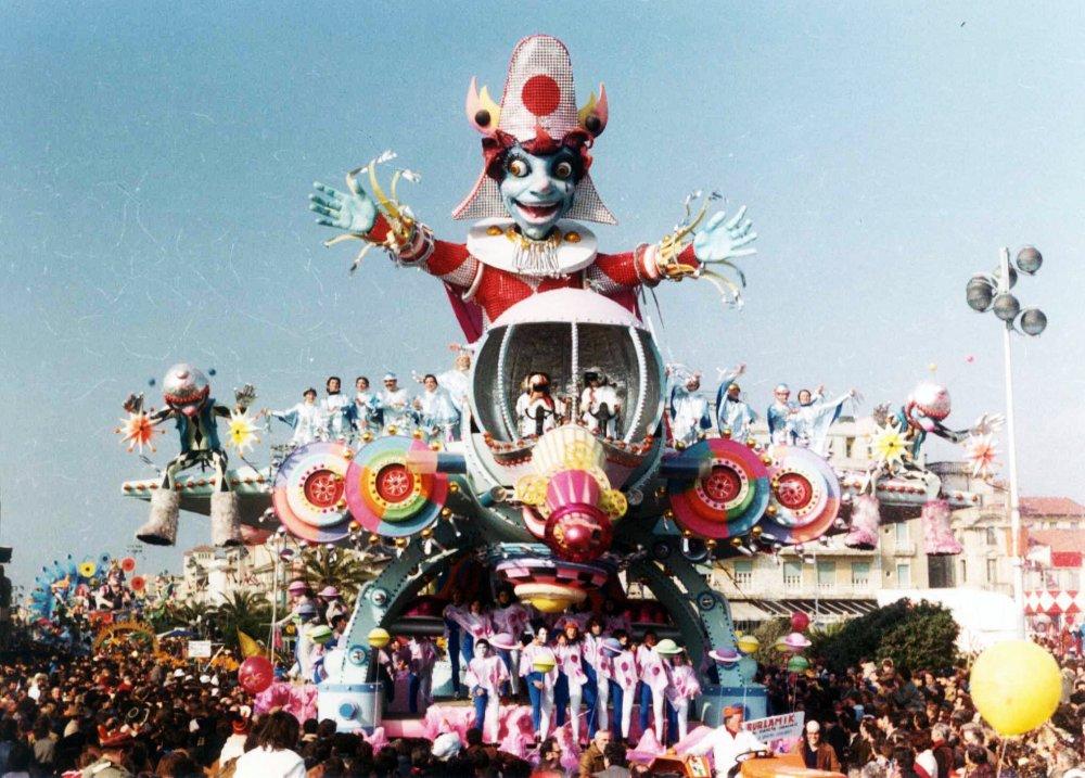 Burlamik al pianeta carnevale di Sergio Baroni e Renato Verlanti - Carri grandi - Carnevale di Viareggio 1981