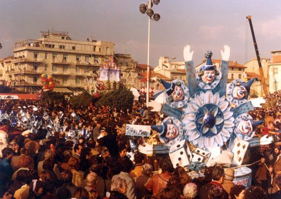 Carnevale prestigiatore di Rione Mare - Palio dei Rioni - Carnevale di Viareggio 1981