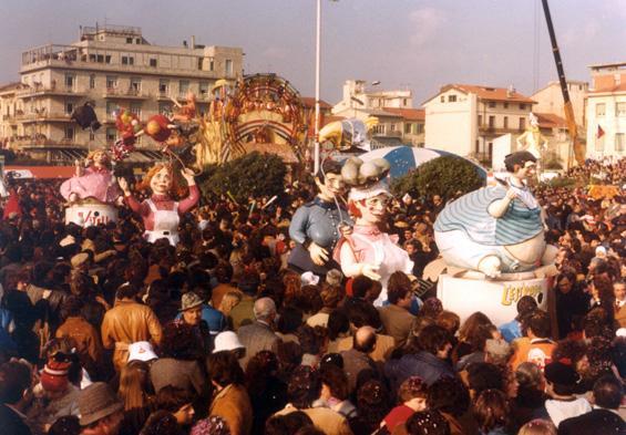 Estroso estrogeno di Guidobaldo Francesconi - Mascherate di Gruppo - Carnevale di Viareggio 1981