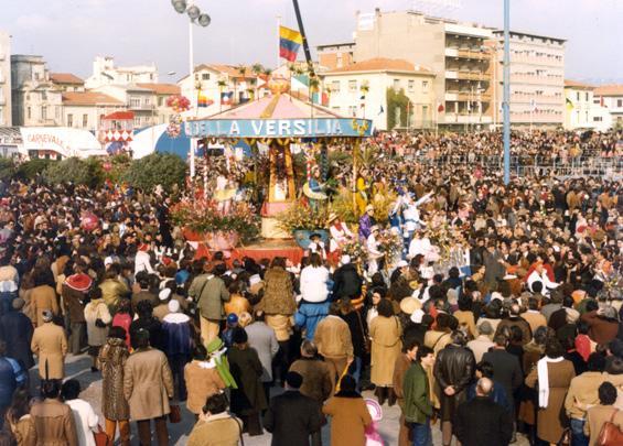 La giostra dei fiori di Rione Migliarina - Fuori Concorso - Carnevale di Viareggio 1981