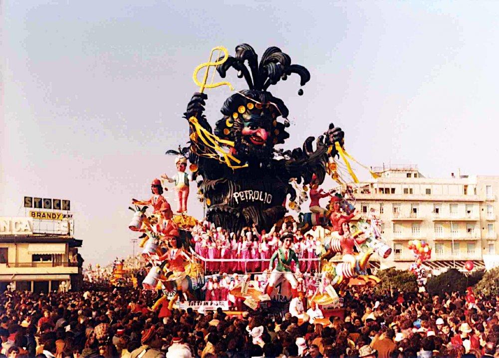 Tutti in pista di Carlo Vannucci - Carri grandi - Carnevale di Viareggio 1981
