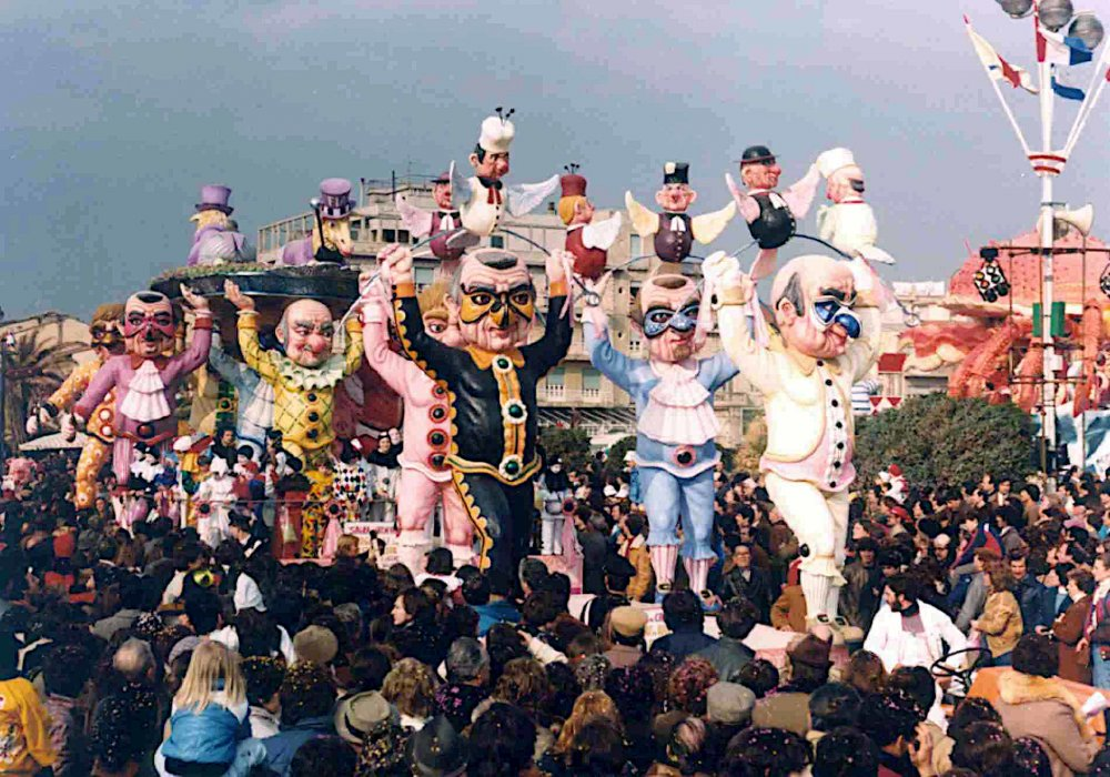 Agnelli in salsa proletaria di Loris Lazzarini e Roberto Patalano - Carri piccoli - Carnevale di Viareggio 1982