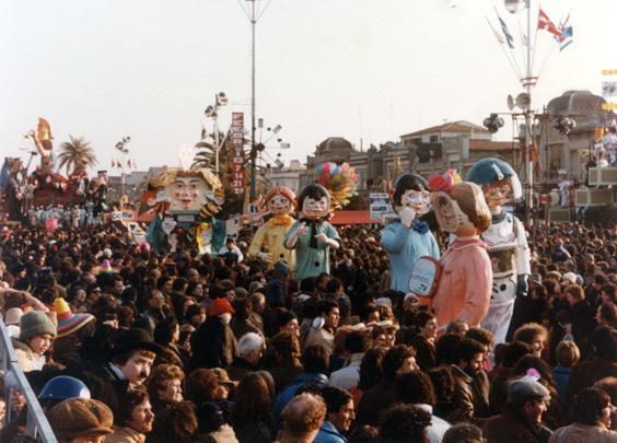 Bella, dolce, cara mammona di Guidobaldo Francesconi - Mascherate di Gruppo - Carnevale di Viareggio 1982