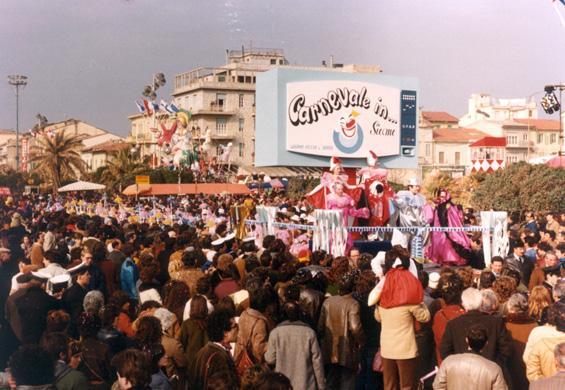 Carnevale in...sieme di Gruppo Festa a Bordo - Palio dei Rioni - Carnevale di Viareggio 1982