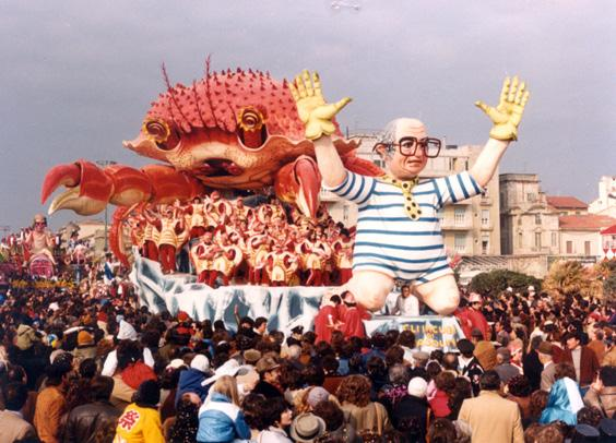 Gli incubi di Spadolini di Raffaello Giunta - Carri grandi - Carnevale di Viareggio 1982