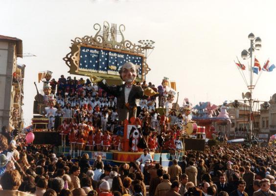 Il grande maestro di Sergio Baroni e Renato Verlanti - Fuori Concorso - Carnevale di Viareggio 1982