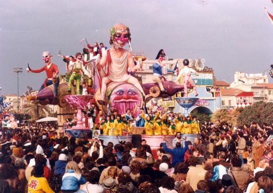La battaglia del vino di Rione Vecchia Viareggio - Carri piccoli - Carnevale di Viareggio 1982