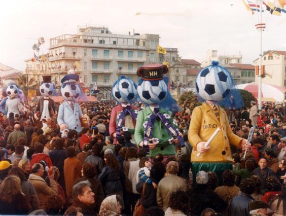 I grandi profeti dissero di Giovanni Pardini - Mascherate di Gruppo - Carnevale di Viareggio 1983