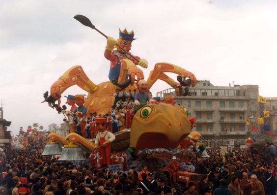 Igiene del territorio di Renato Galli - Carri grandi - Carnevale di Viareggio 1983