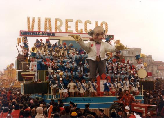 Il grande maestro di Sergio Baroni e Renato Verlanti - Fuori Concorso - Carnevale di Viareggio 1983