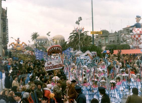 La cacciuccata di Rione Marco Polo - Palio dei Rioni - Carnevale di Viareggio 1983