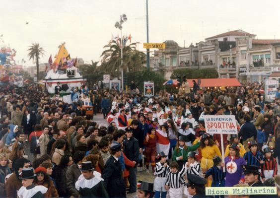 La domenica sportiva di Rione Migliarina - Palio dei Rioni - Carnevale di Viareggio 1983