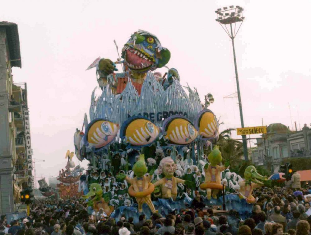 Mare grosso di Arnaldo Galli - Carri grandi - Carnevale di Viareggio 1983